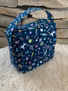 Space Unicorn Boxy Insulated Lunch Bag
