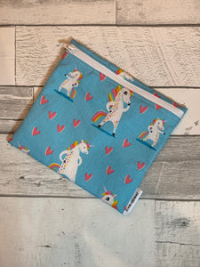 Spunky Unicorn Reusable Sandwich Bag