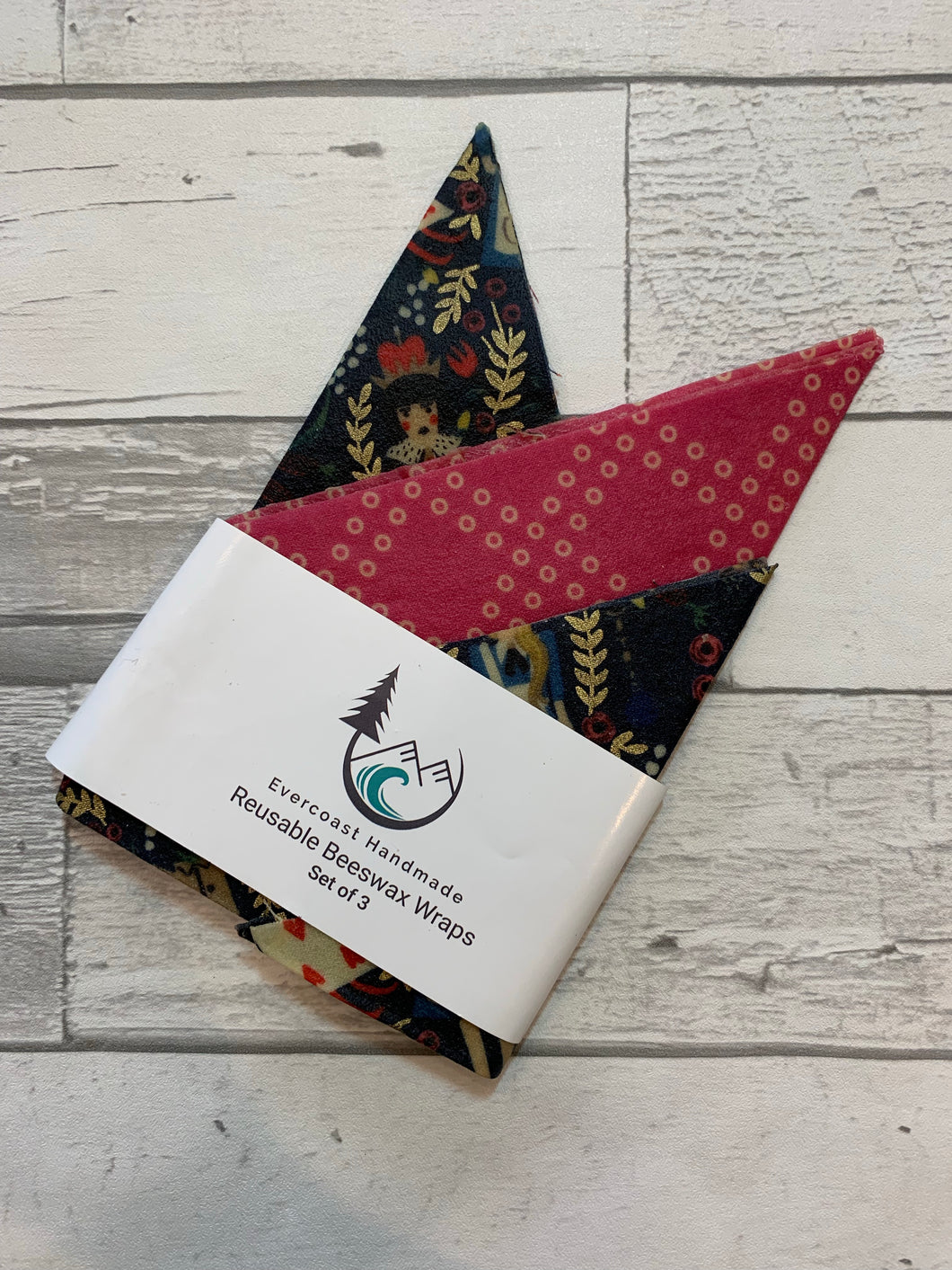 Alice Beeswax Wraps – Essential Set of 3