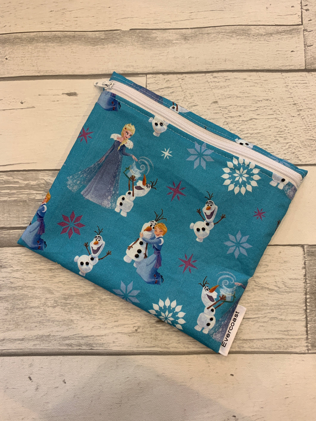 Princess Reusable Sandwich Bag