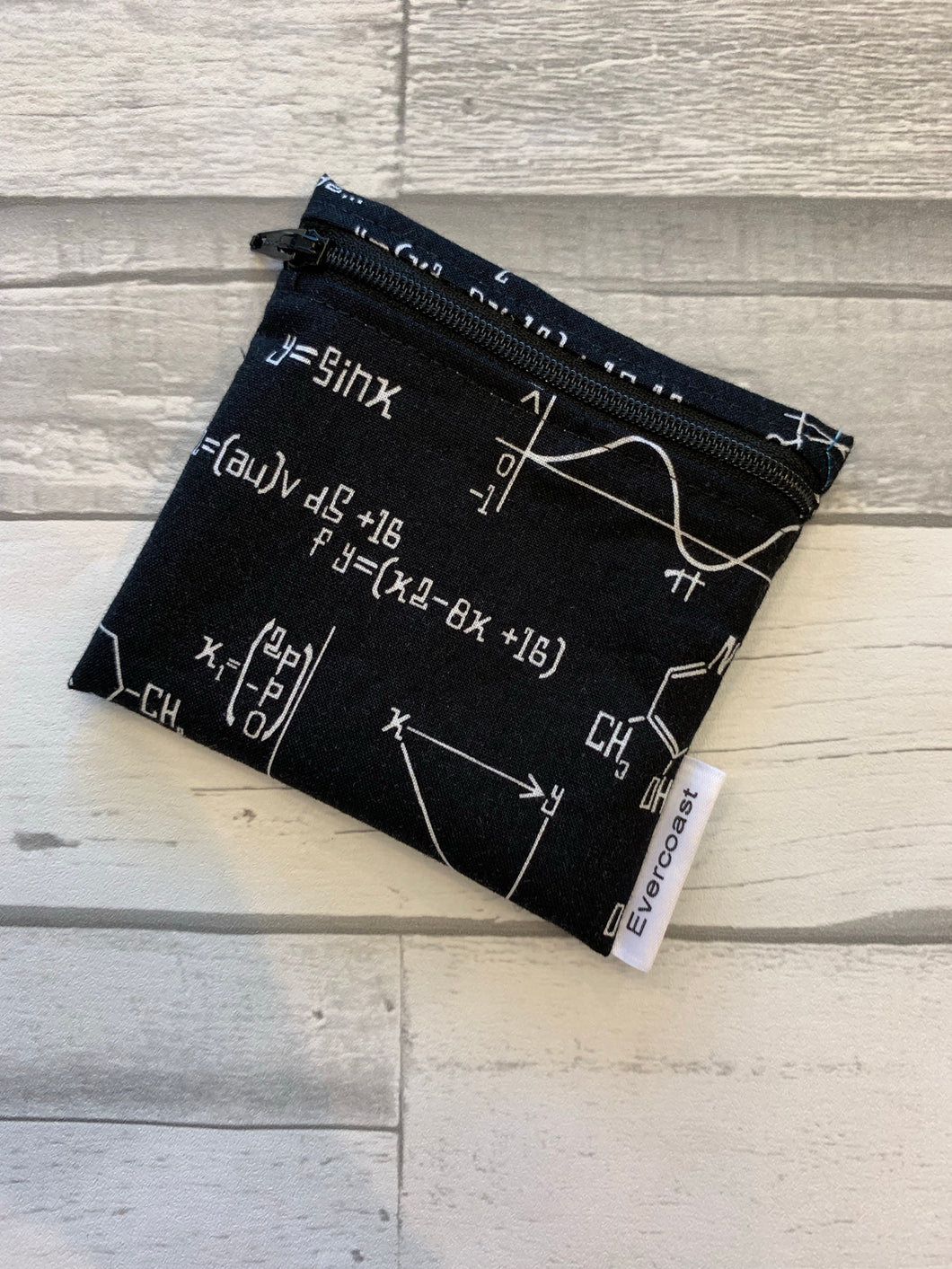 Chemistry Formula Reusable Mini Snack Bag