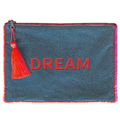 Pochette in velluto DREAM