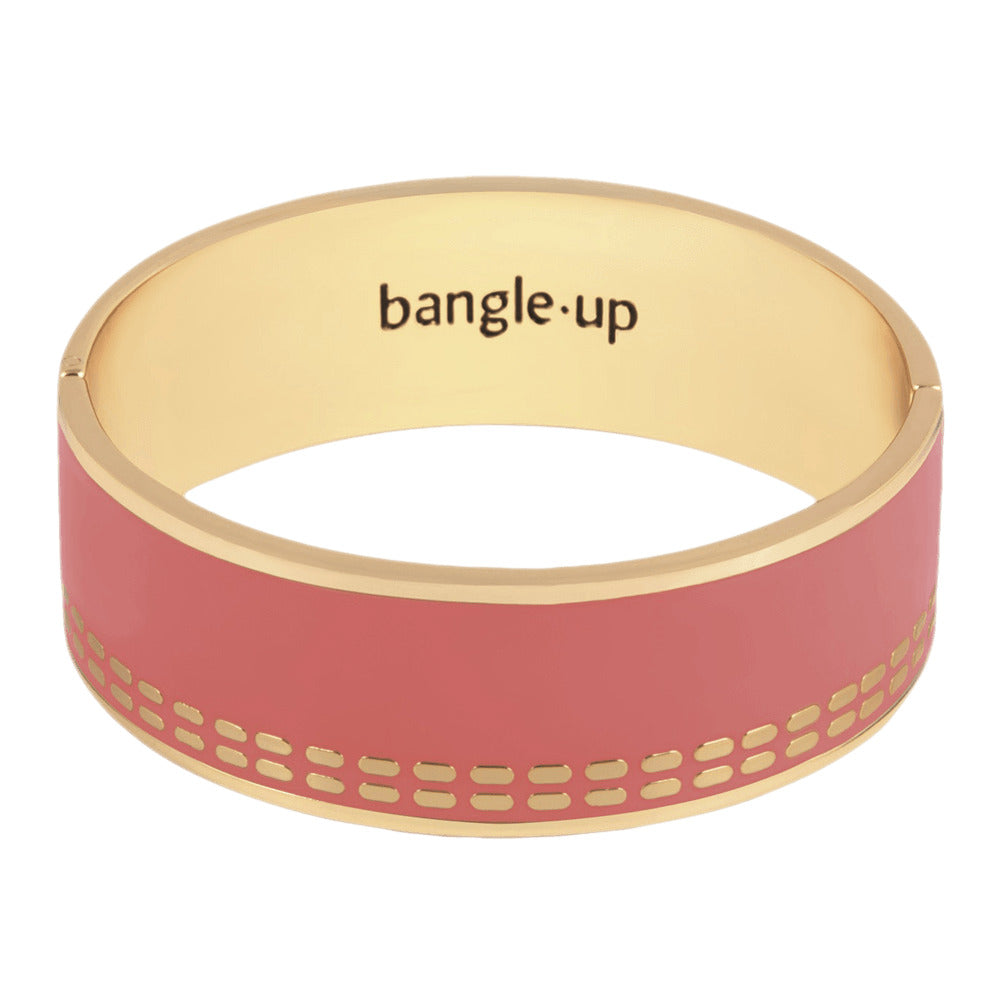 Closed enamelled bangle. The dashes – 020