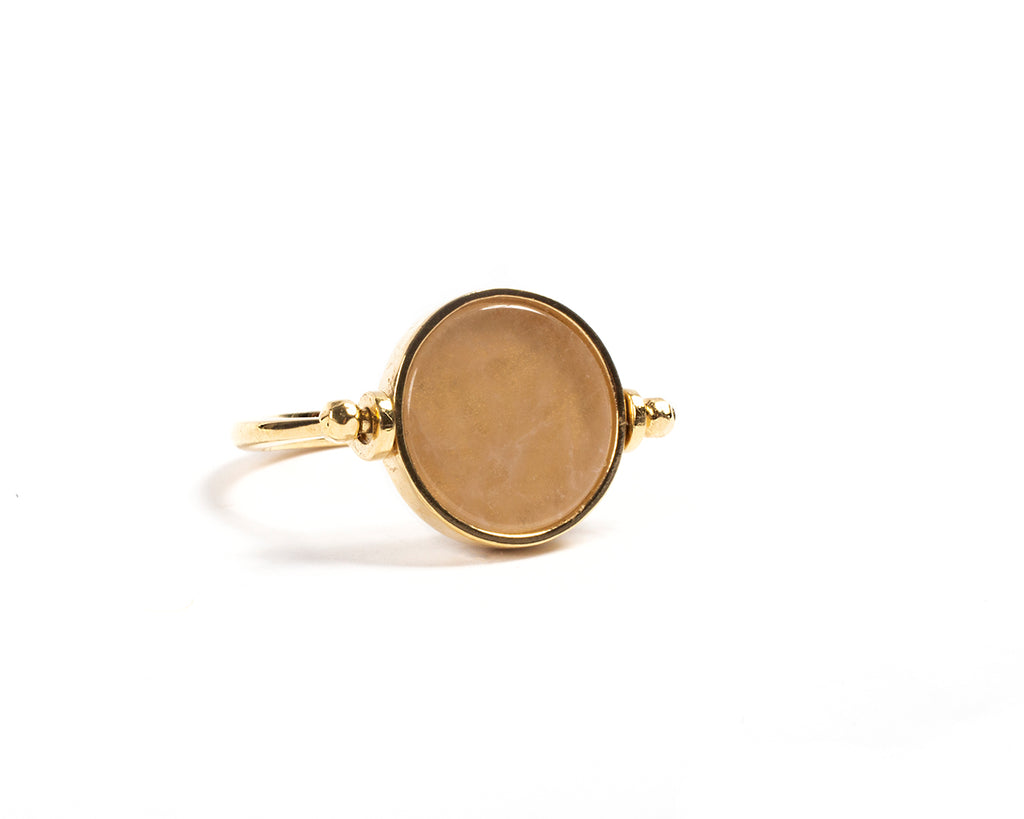 Swivel stone ring – 001