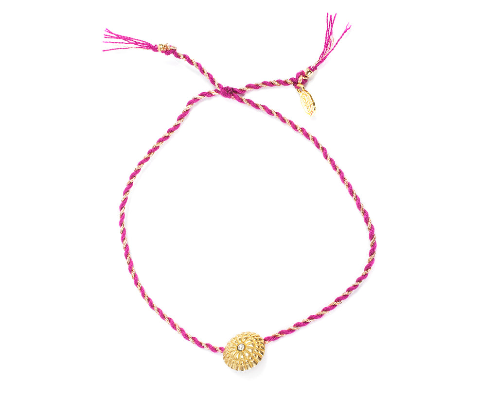 Bracelet with lanyard with medal and light point - 005