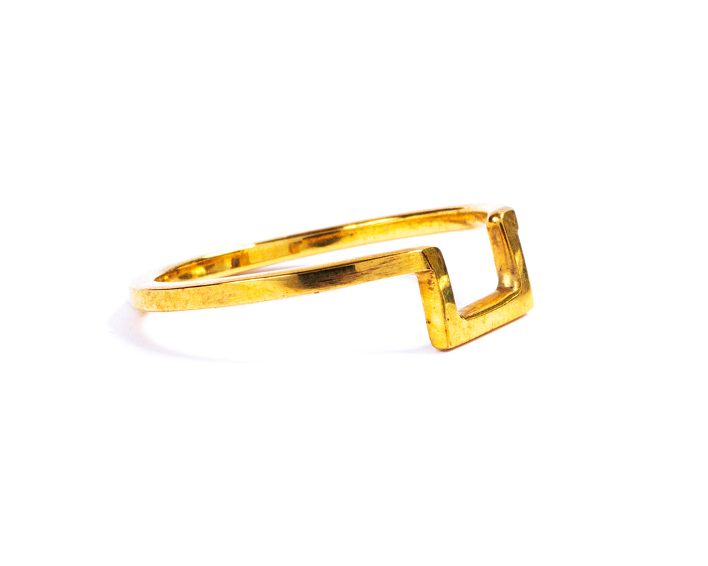 Golden ring. Geometrico - 002