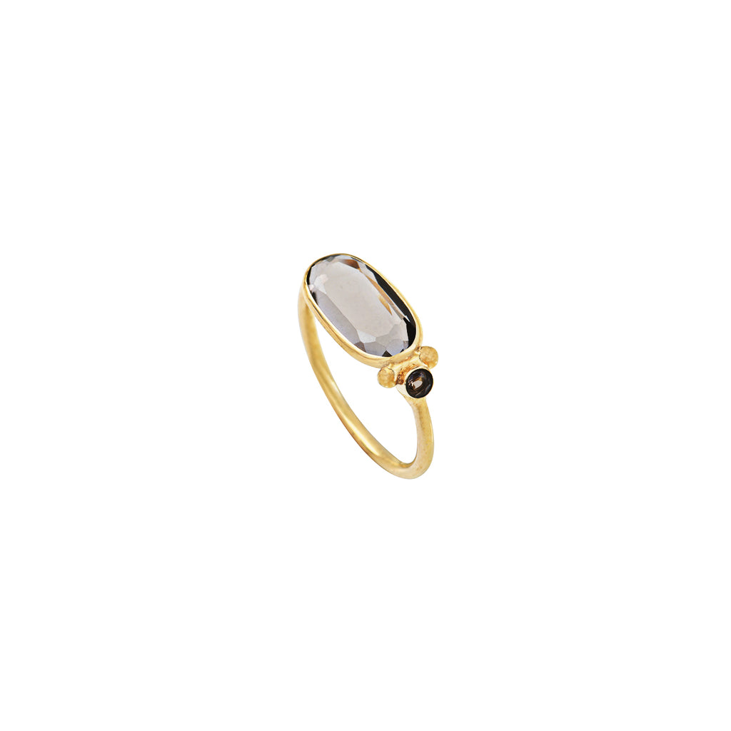 Ring with semi-precious stone – 004