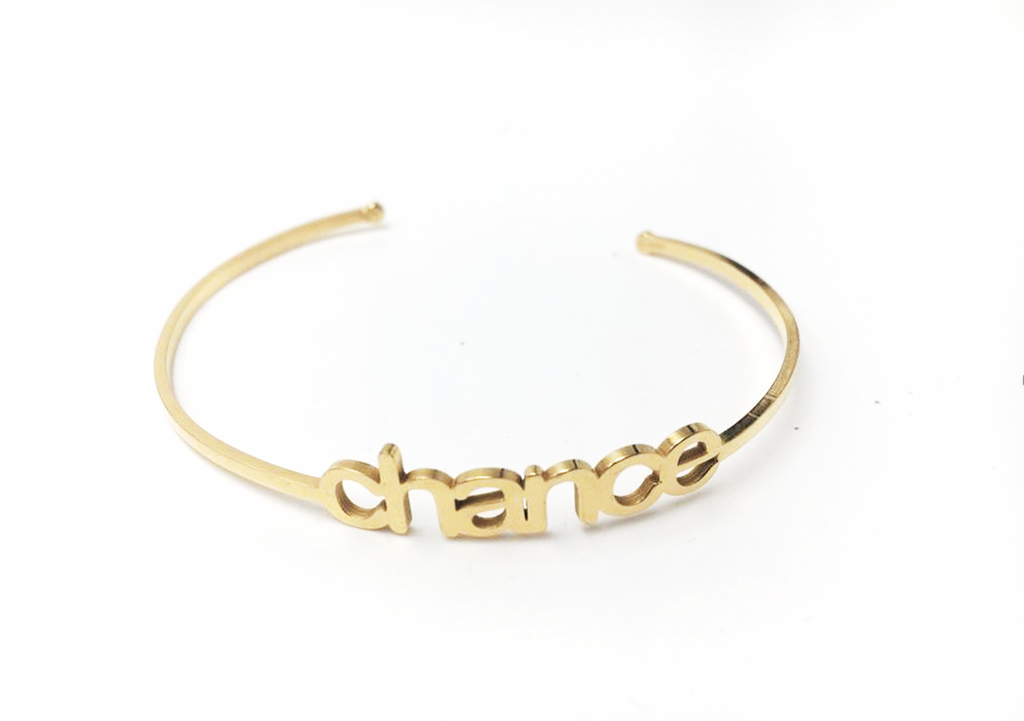 Bracciale dorato. Dream/Chance - 024