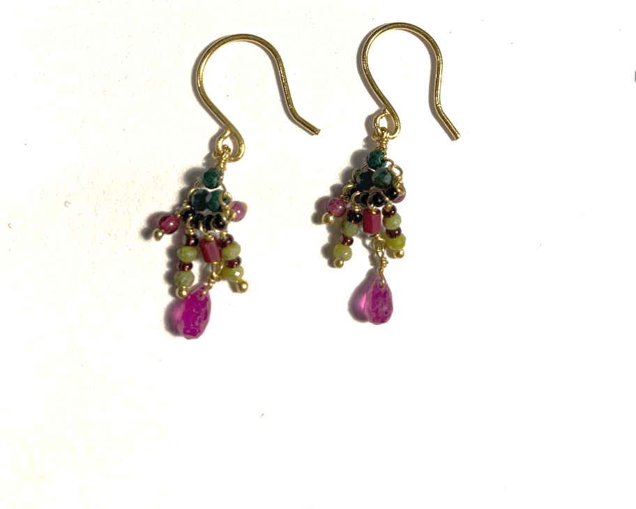 Small dangle earrings - 001