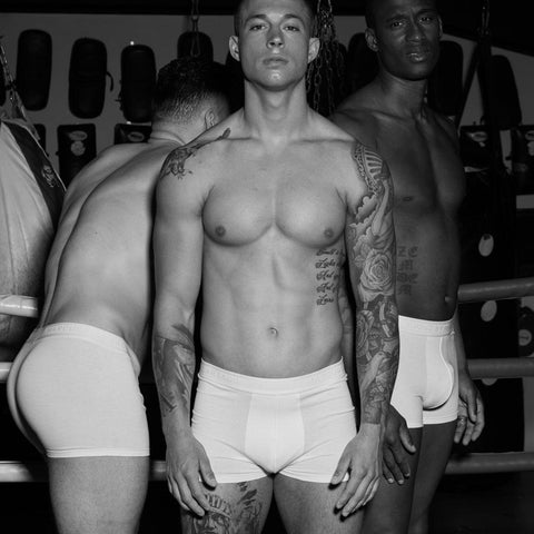 3-PACK BOXER TRUNK - WHITE [SOLD OUT]-Underwear-Ljung by Marcus Larsson Stockholm