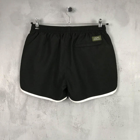 RUNNER SWIM SHORTS - BLACK [SOLD OUT]