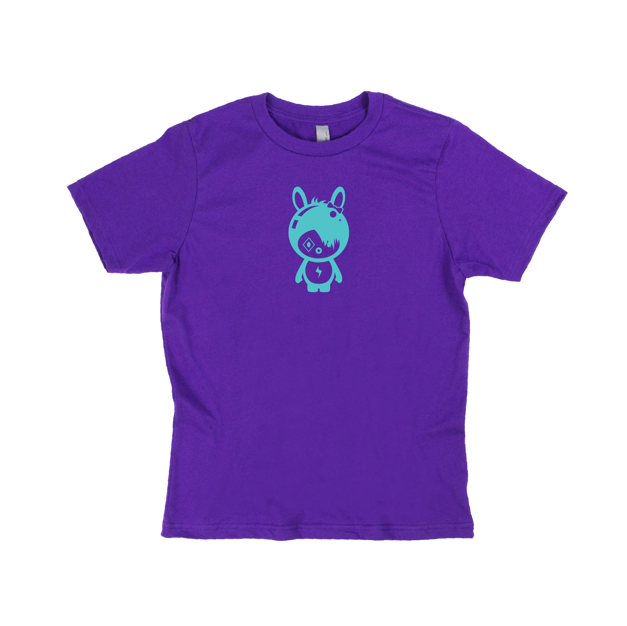 Momomoon Punk - Kids Purple Shirt