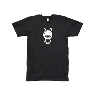 Momomoon Ninja - Adult Black Shirt