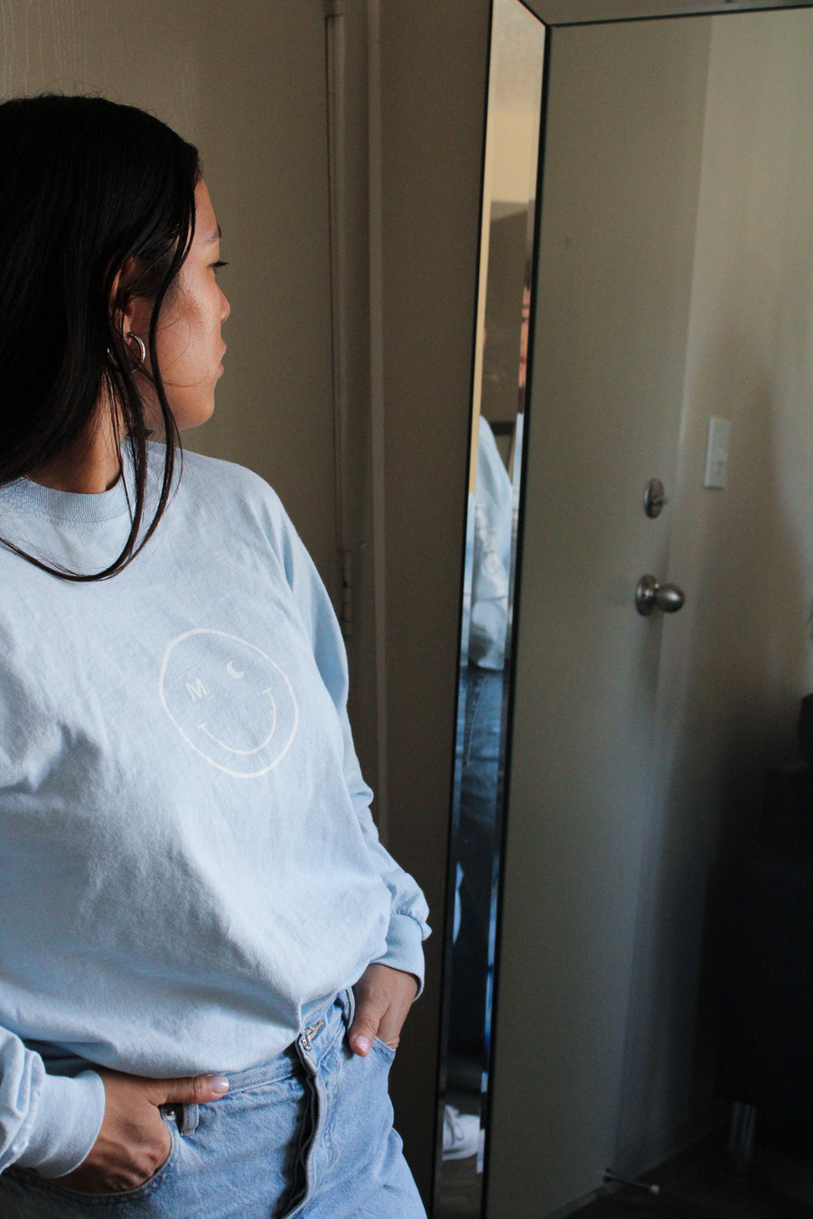 Momomoon Smile Long Sleeve