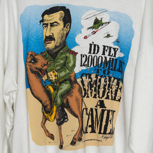 1990 Smoke a Camel Sweatshirt Large