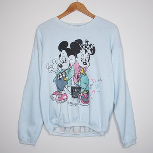 90's Mickey Tennis T-Shirt XL