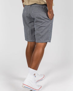 "Dickies Kempton Hickory Stripe 7.5"" Short"