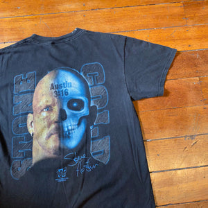 1998 Stone Cold 'Other Side' T-Shirt Large