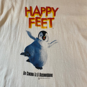 2006 Happy Feet Promo T-Shirt Medium