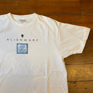 Vintage Intel 'AlienWare' T-Shirt Large