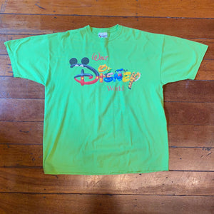 90's Disney World T-Shirt Large