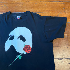 Early 90's Phanton of the Opera Mask T-Shirt M-L