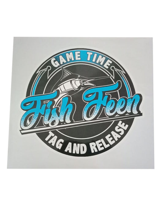 Game Time Sticker
