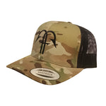 Multicam Trucker - Green