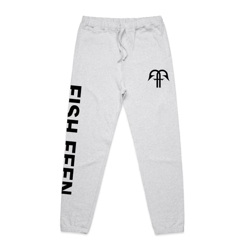 Contour Trackies - White Marle