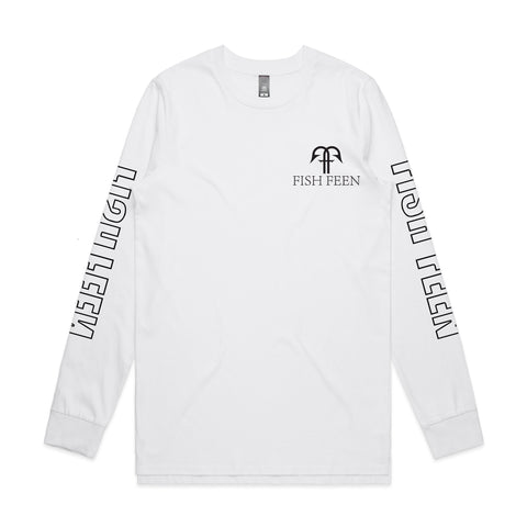 Contour Long Sleeve Tee - White