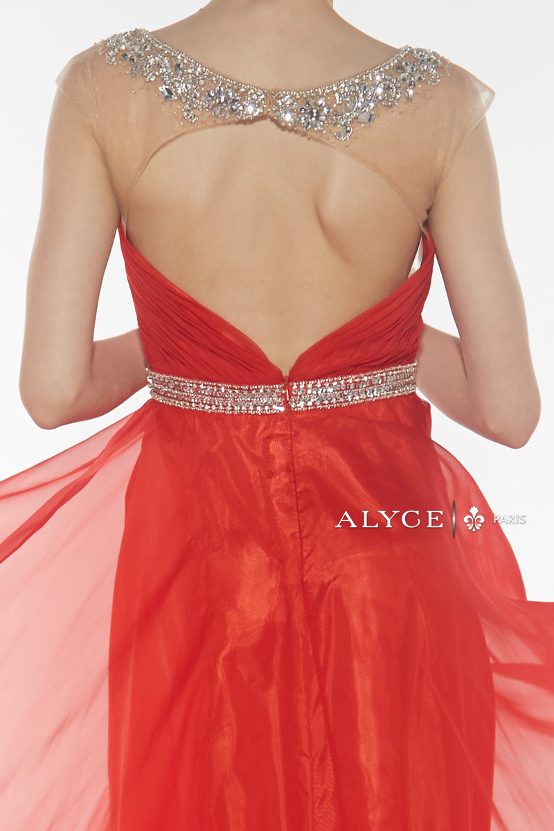 Alyce 1029 Red Back