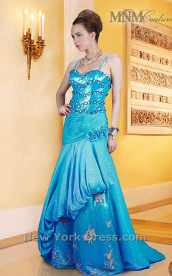MNM Couture 6050 Blue