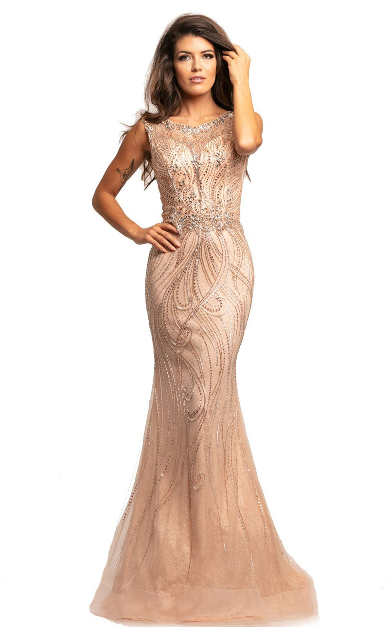 Johnathan Kayne 2042 Dress Blush