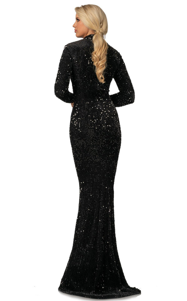 Johnathan Kayne 2084 Dress Black