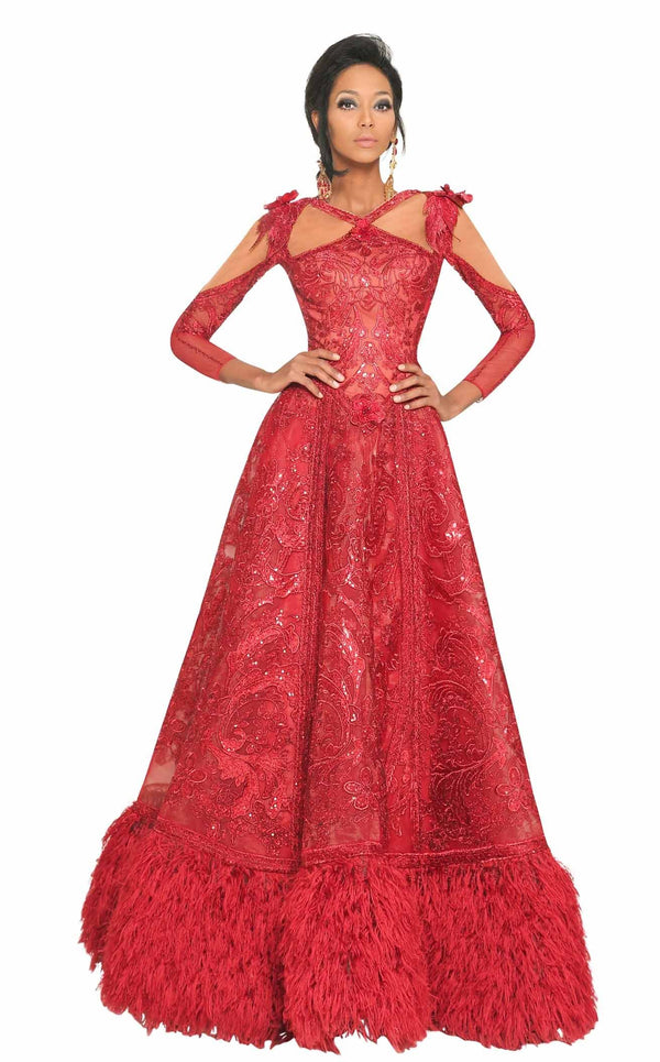 MNM Couture 2523 Red