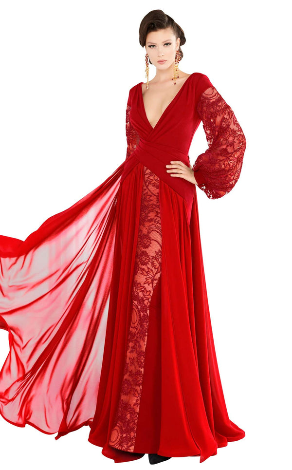 MNM Couture 2551 Red