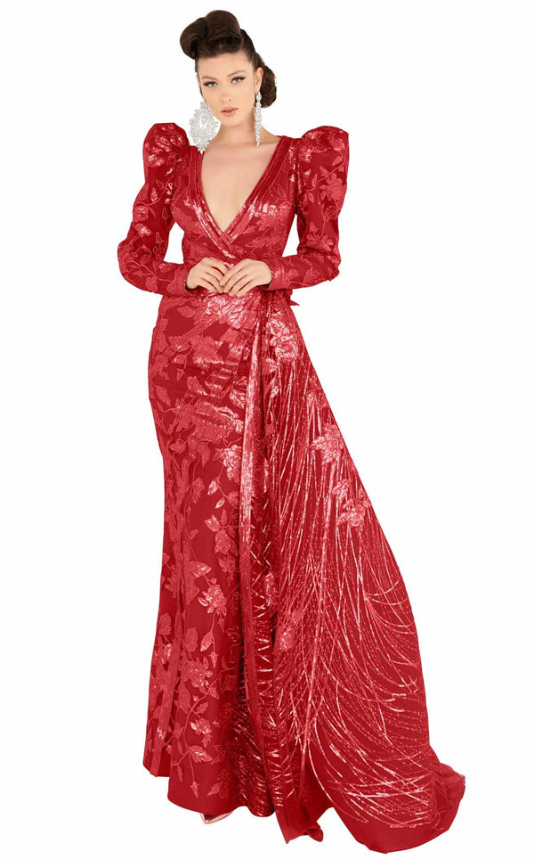 MNM Couture 2563 Dress Red