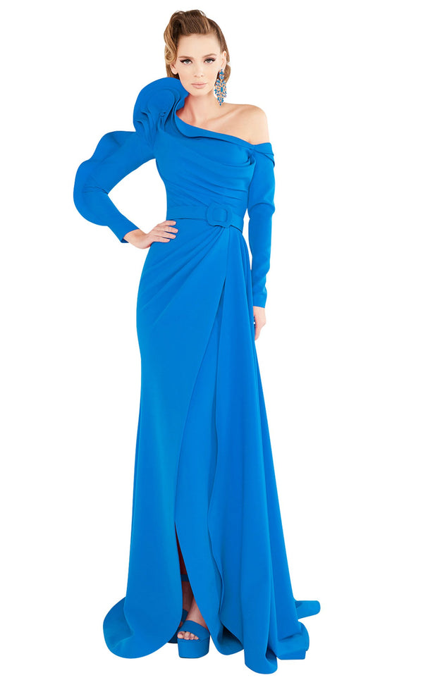 MNM Couture 2571 Dress Blue