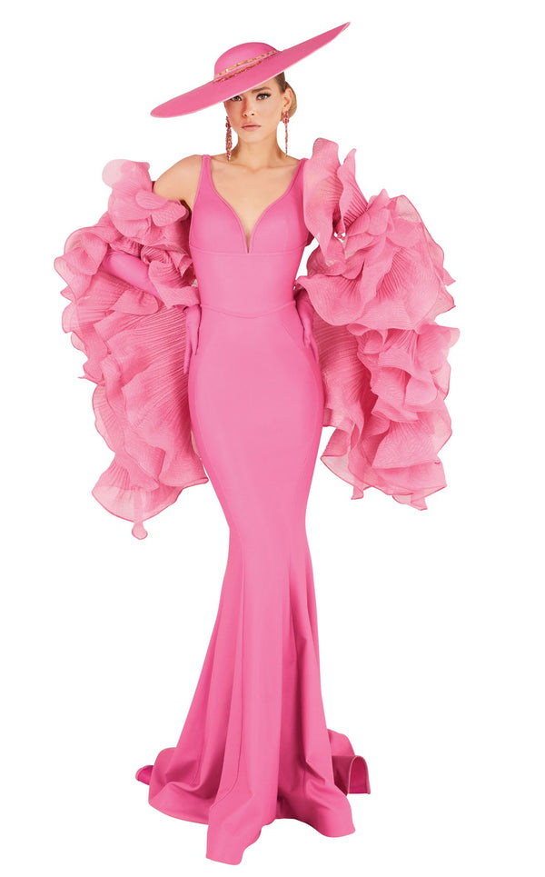 MNM Couture 2575 Dress Pink