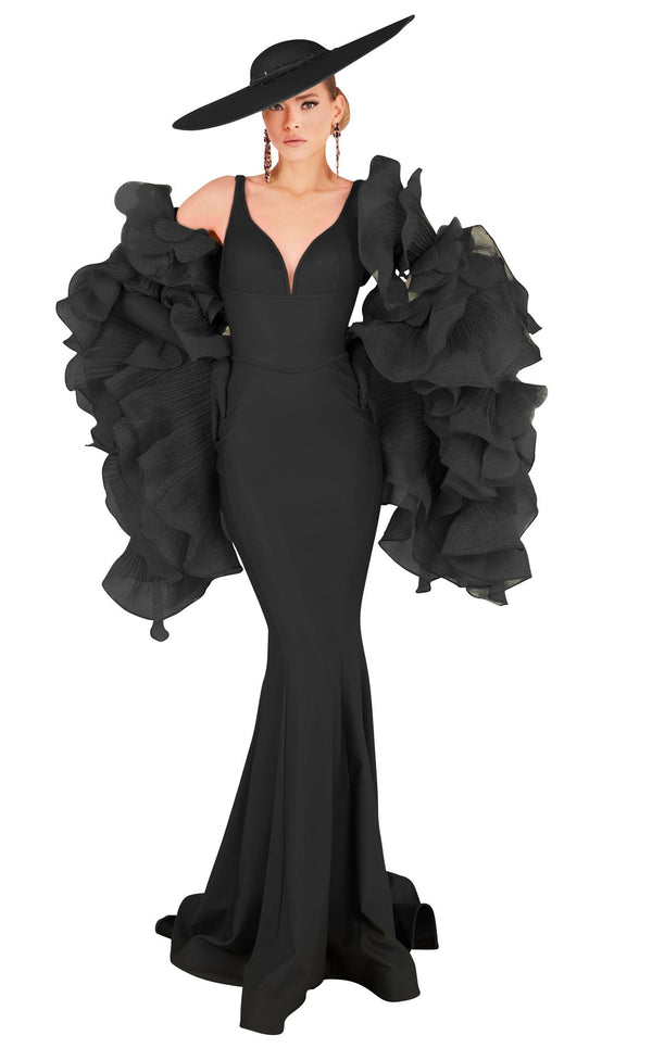MNM Couture 2575 Dress Black