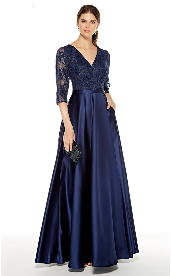 Alyce 27387 Dress Navy