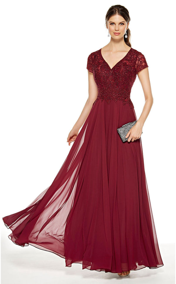 Alyce 27389 Dress Burgundy