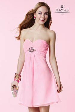 Alyce 3676 Cotton Candy Pink