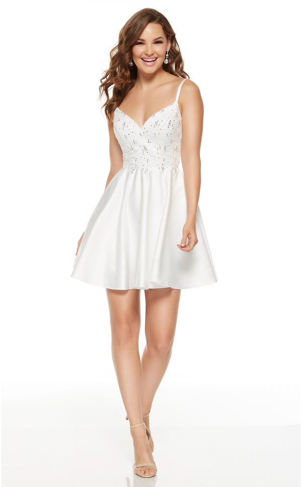 Alyce 3932 Dress Diamond-White