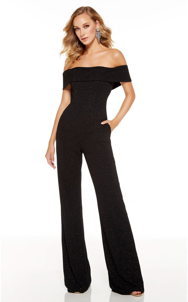 Alyce 60802 Jumpsuit Black