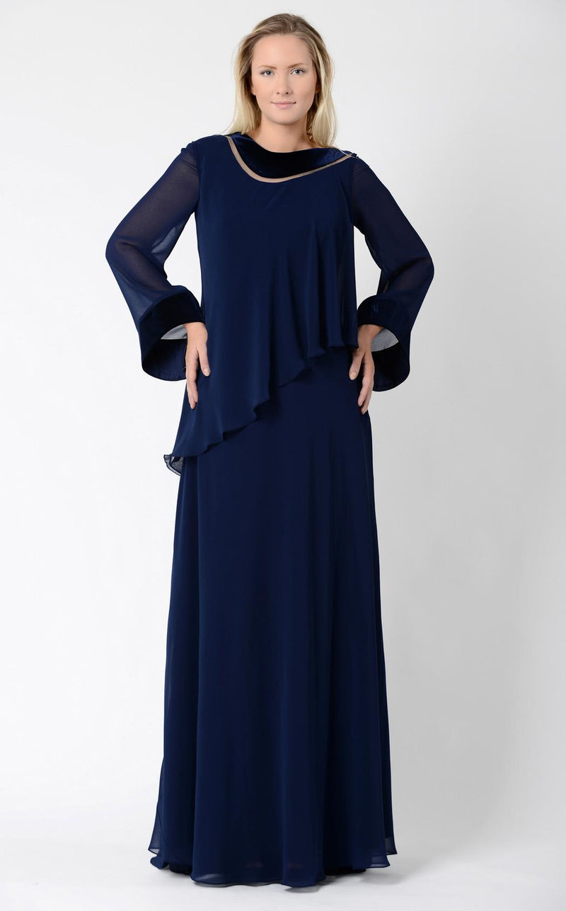 Beside Couture PS523 Navy Blue