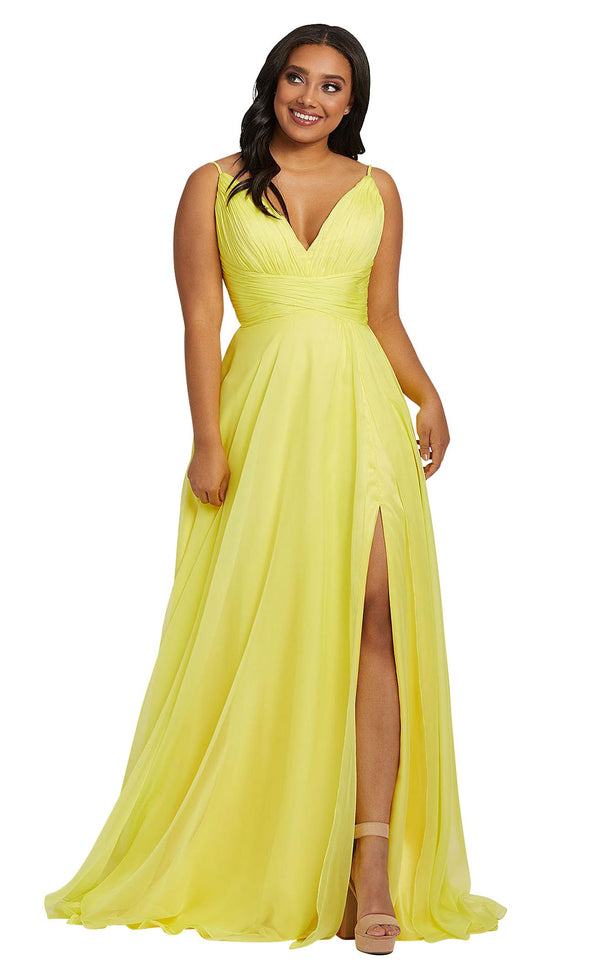 Mac Duggal Fabulouss 67214F Sunshine