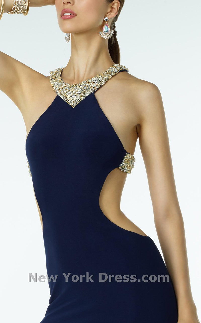 Alyce 35774 Navy/Gold