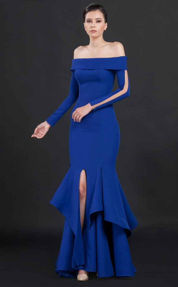 MNM Couture N0043 Royal Blue