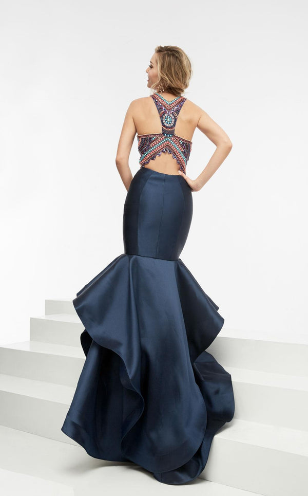 Jasz Couture 5934 Navy Multi